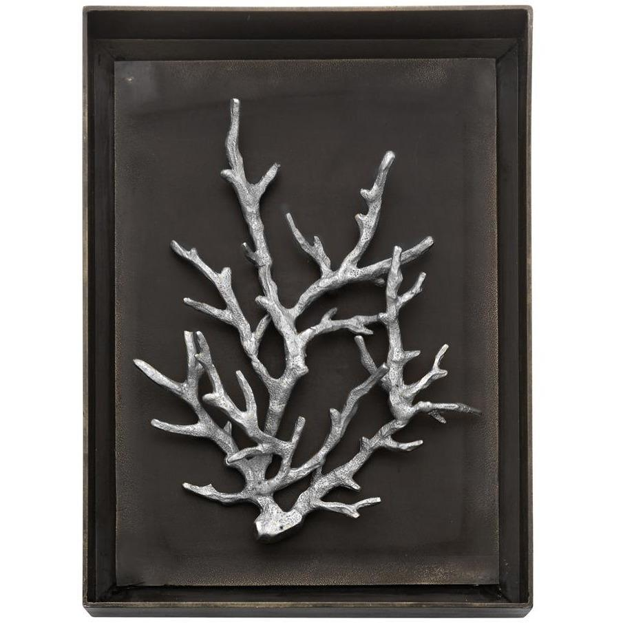Michael Aram Ocean Coral Shadow Box Antique Nickel 176069