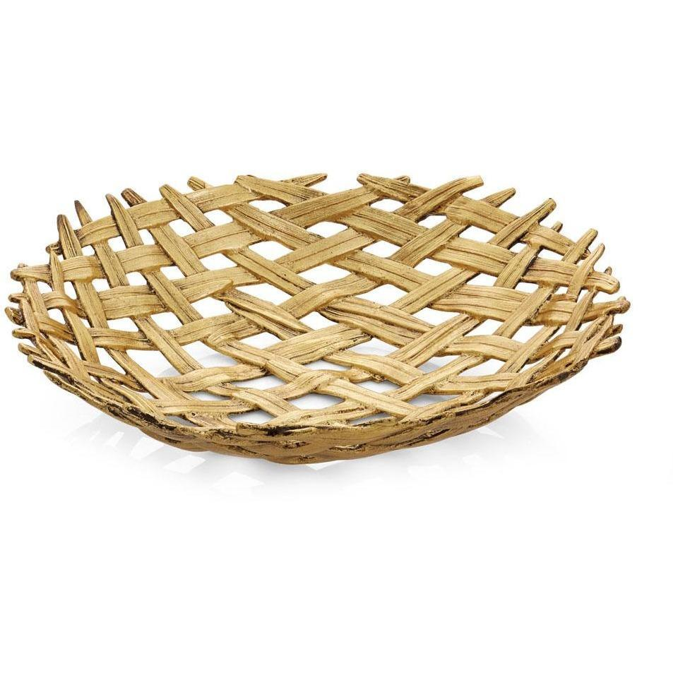 Michael Aram Palm Centerpiece Shallow Bowl 174917