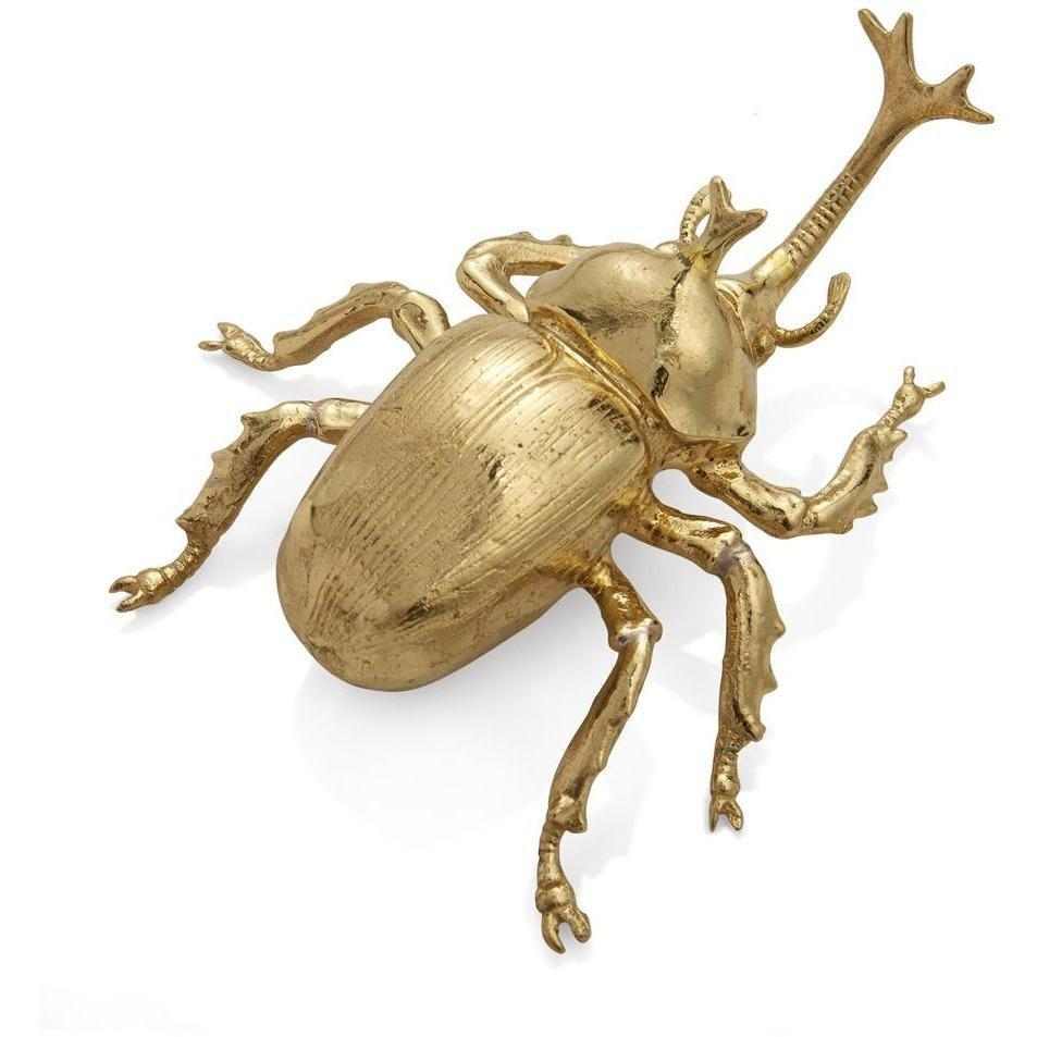 Michael Aram Rainforest Rhino Beetle Figurine 123119