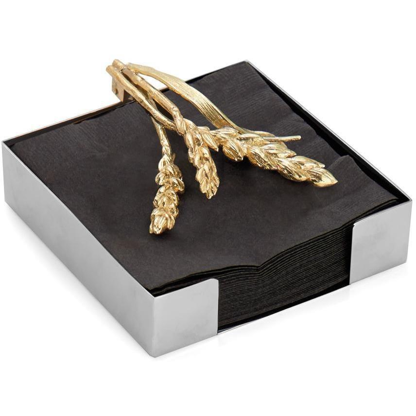 Michael Aram Wheat Cocktail Napkin Holder 174040