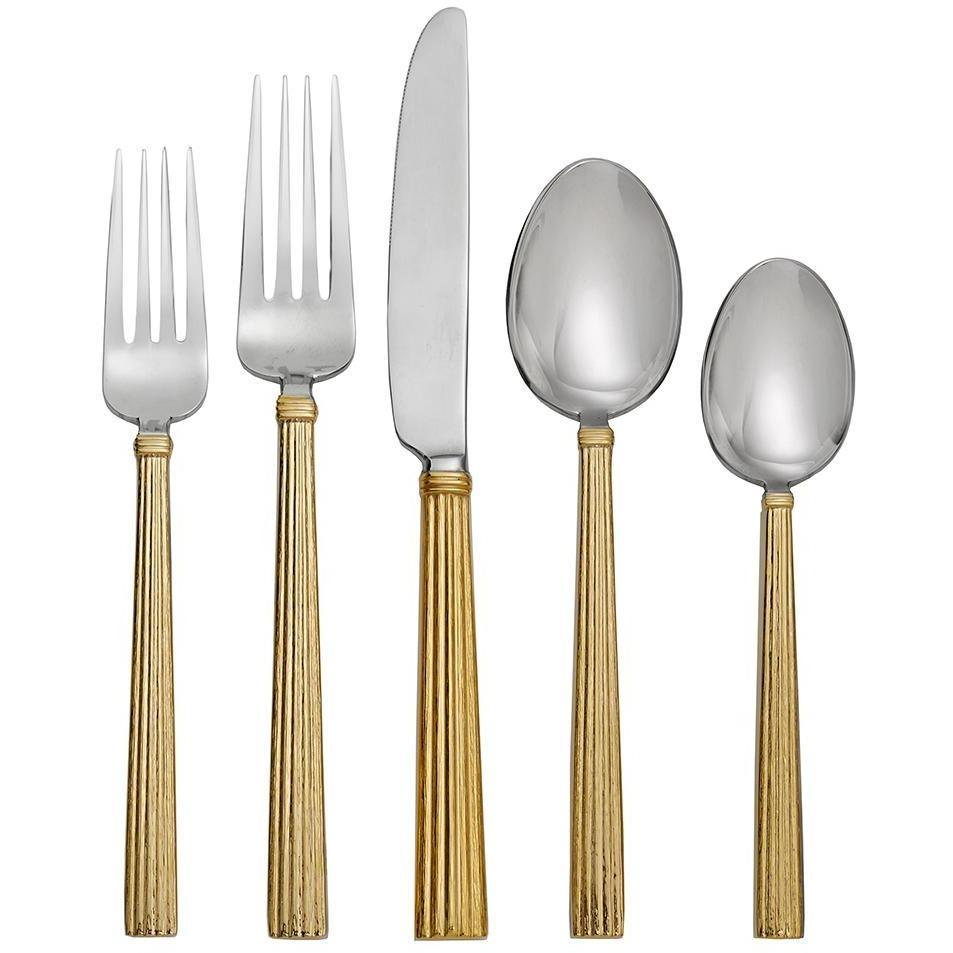 Michael Aram Wheat Gold 5-Piece Flatware Set 325112
