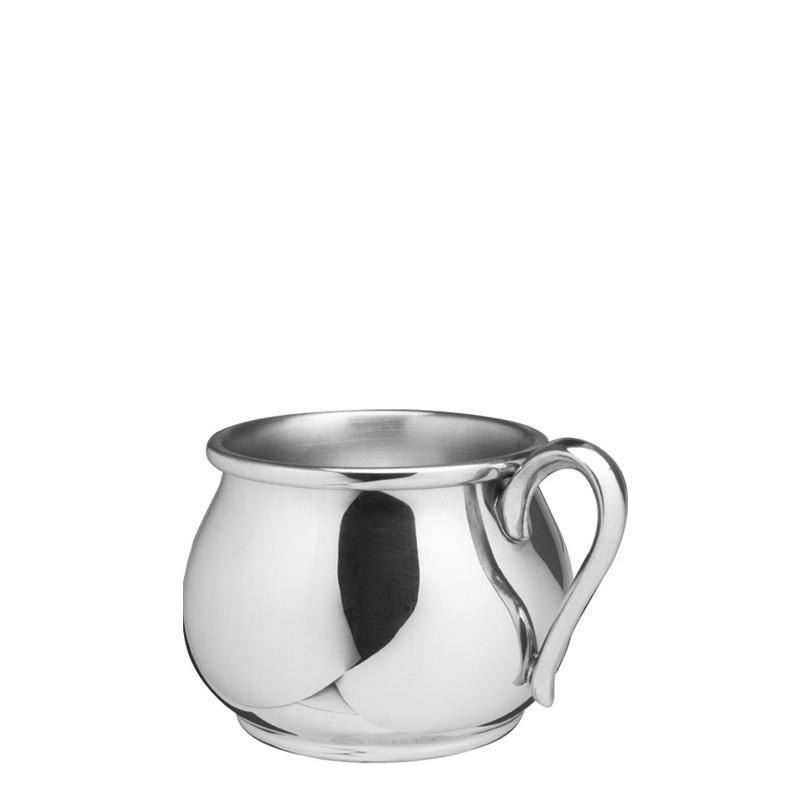 Salisbury Pewter Bulged Baby Cup 5 oz SCBBC