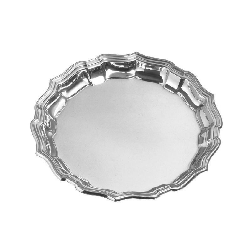 "Salisbury Pewter Chippendale Tray 10"" CCT10"