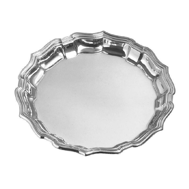 "Salisbury Pewter Chippendale Tray 12"" CCT12"
