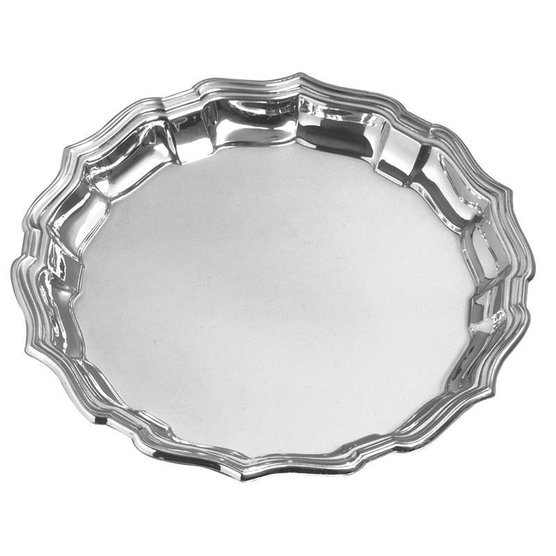 "Salisbury Pewter Chippendale Tray 14"" CCT14"