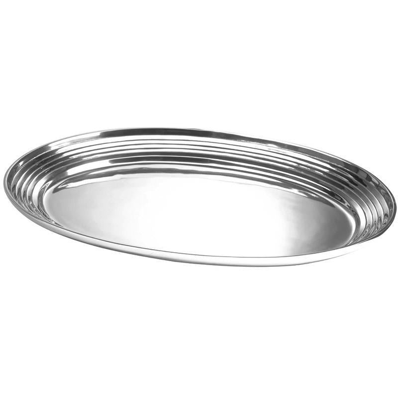 Salisbury Pewter Extra Large Plain Bowl with Lines 17030