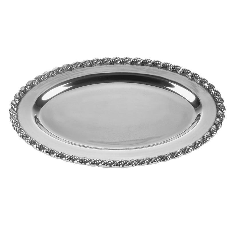 Salisbury Pewter Masthead Medium Oval Tray 12015