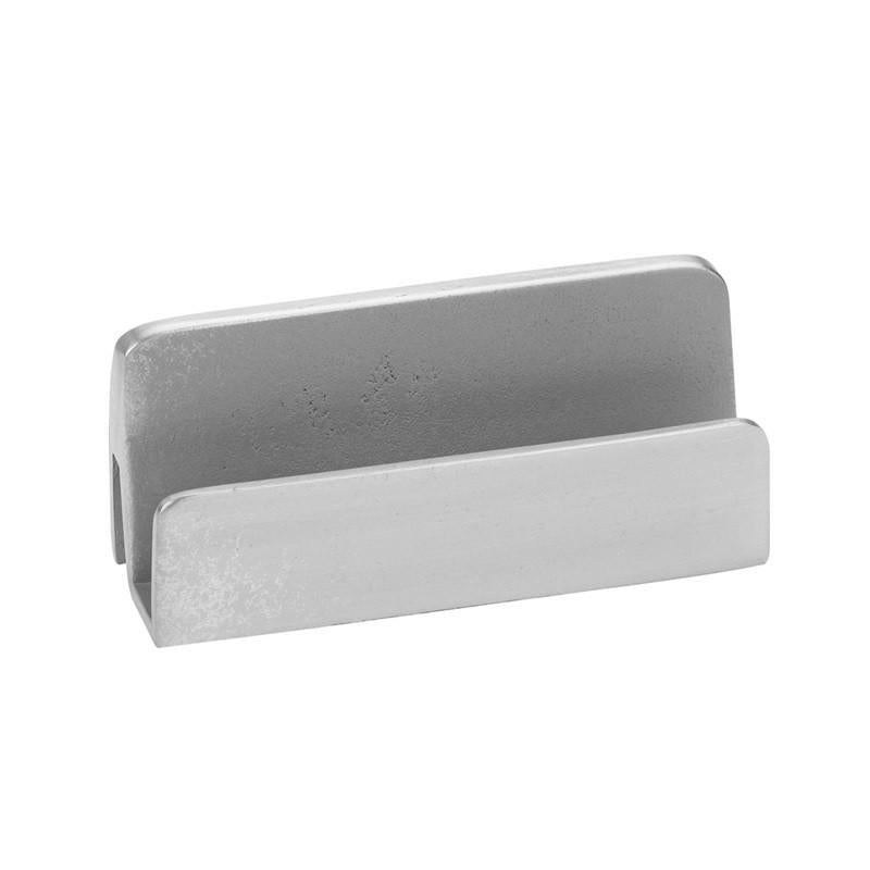 Salisbury Pewter Plain Rectangular Business Card Holder CBCH-P