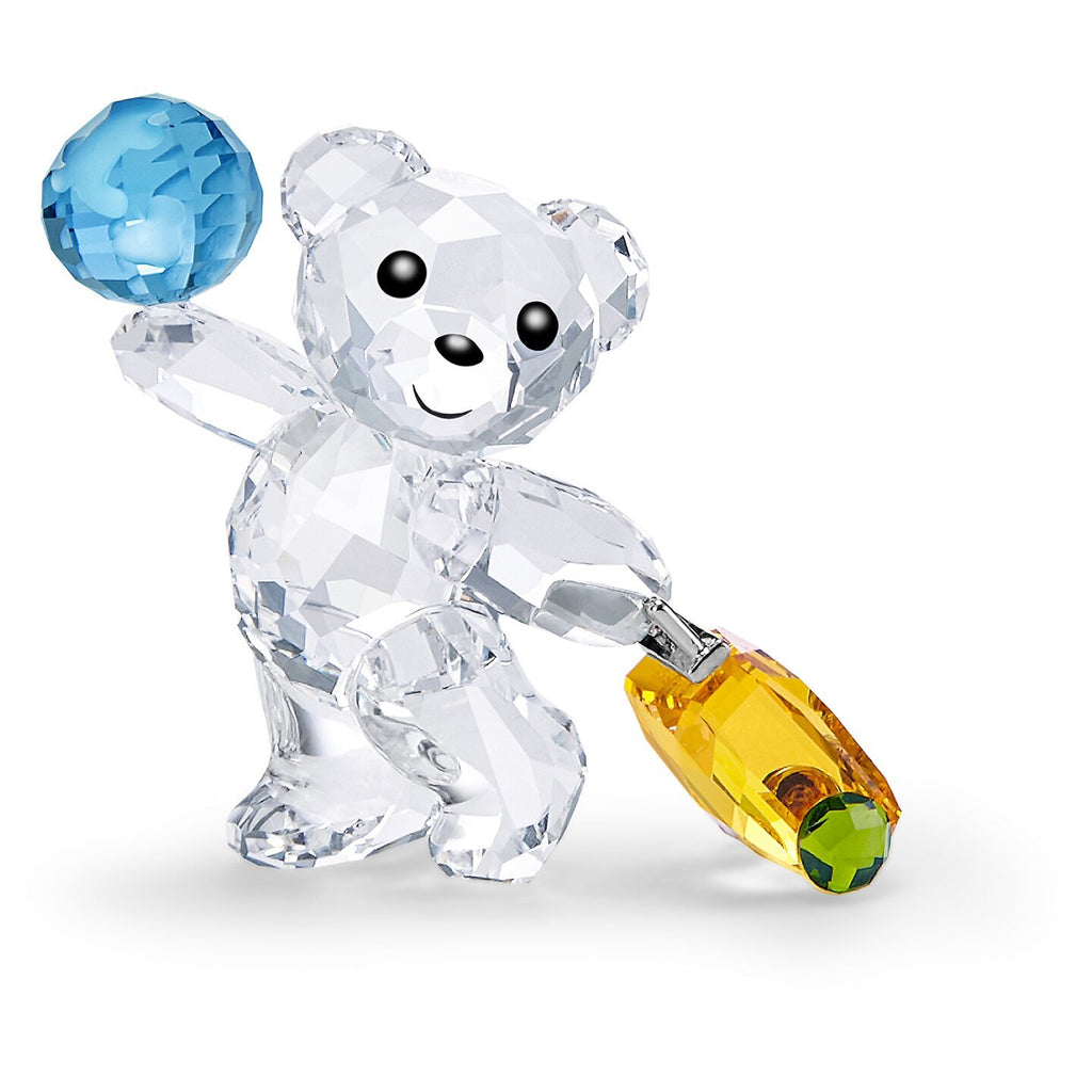 Swarovski Crystal Kris Bear I travel the World Figurine 5491972