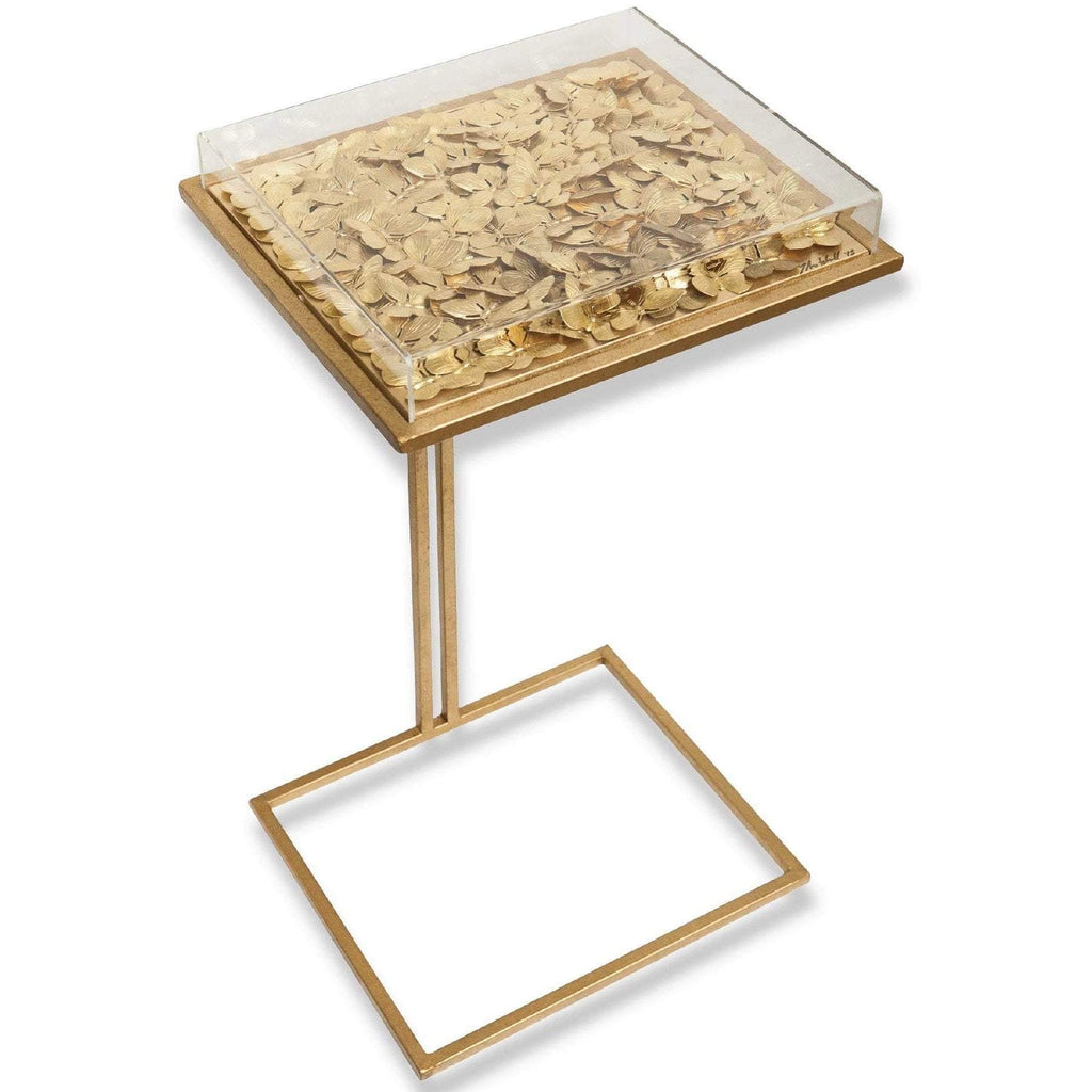 Tommy Mitchell Gilded Butterfly Cocktail Table Small 000SCTB