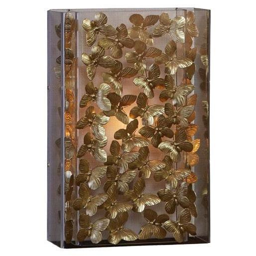 Tommy Mitchell Gilded Butterfly Sconce Small 00BS13