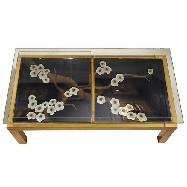 Tommy Mitchell Plum Blossom Coffee Table Black 000PLBCT