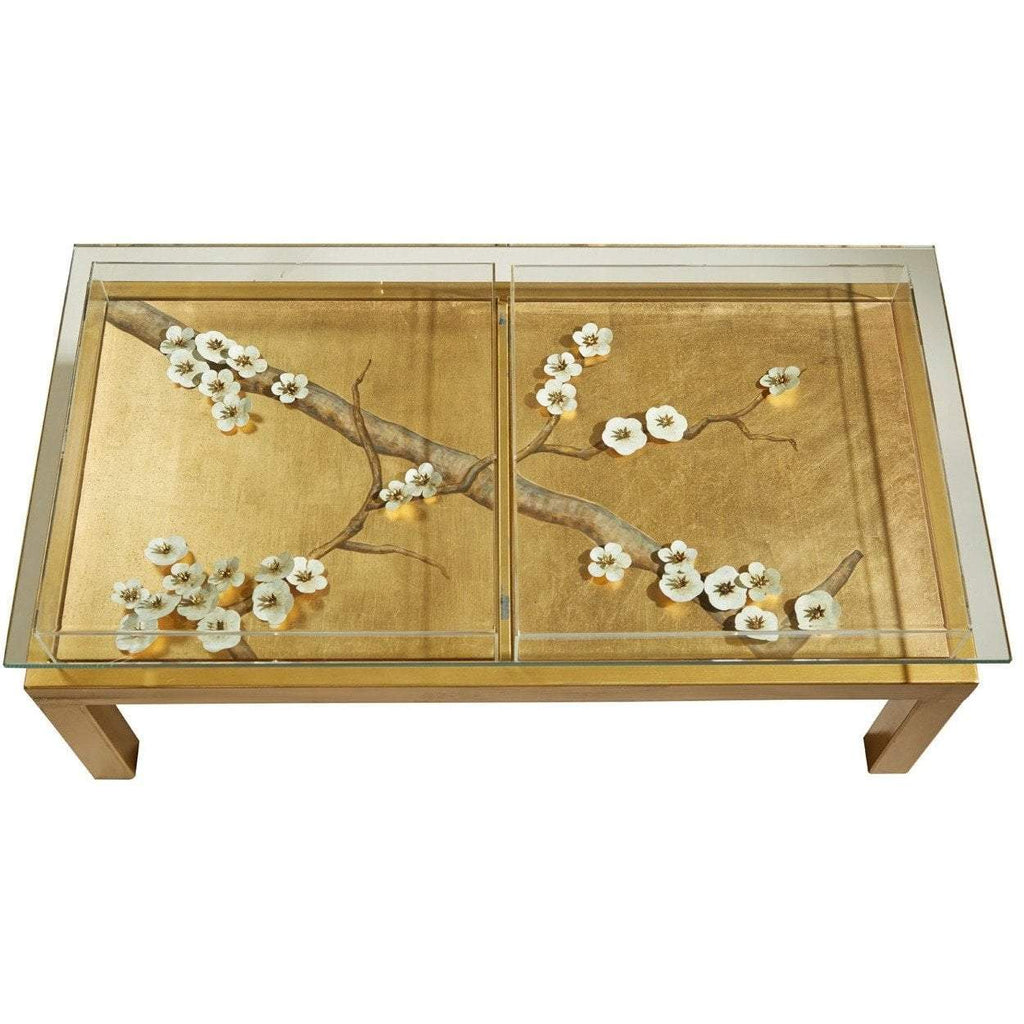 Tommy Mitchell Plum Blossom Coffee Table Gilded 000PLGCT
