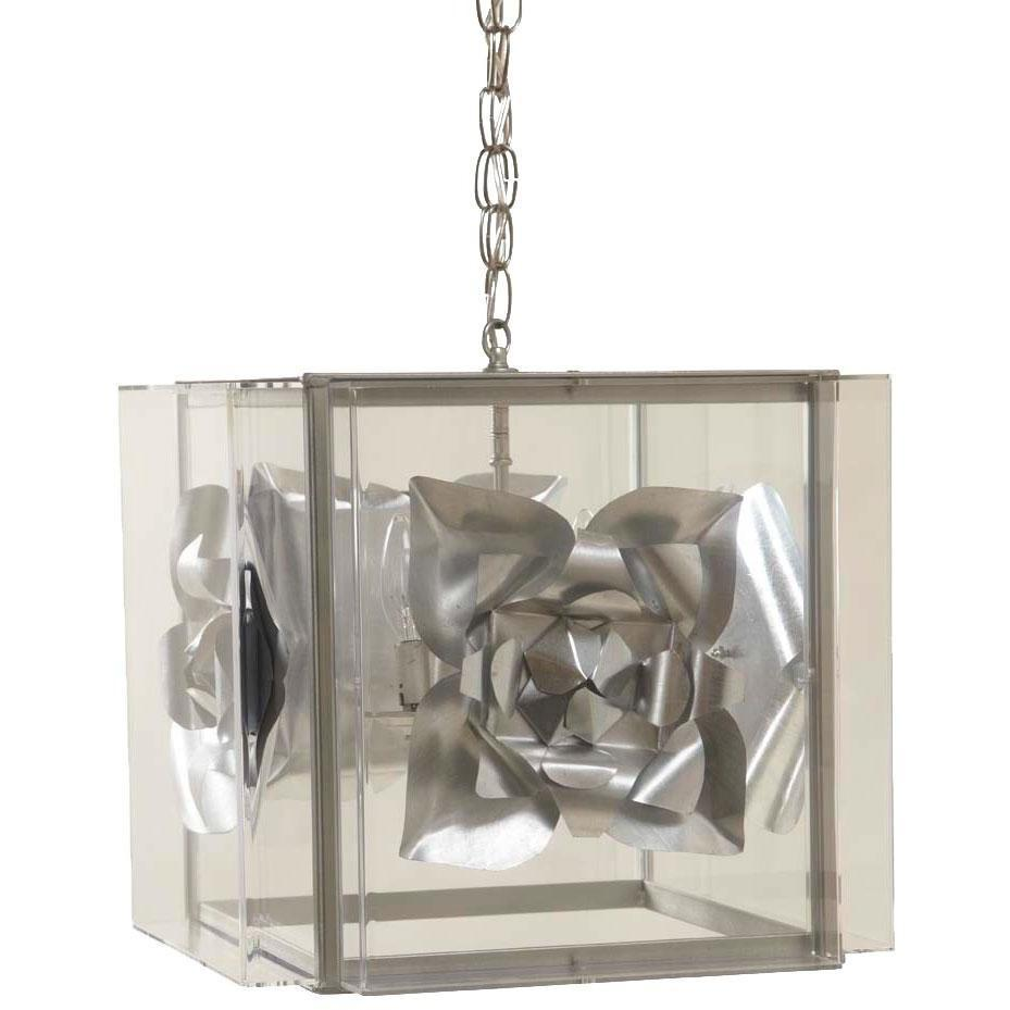 Tommy Mitchell  Silver Medallion Chandelier Large 000MMCSL-L
