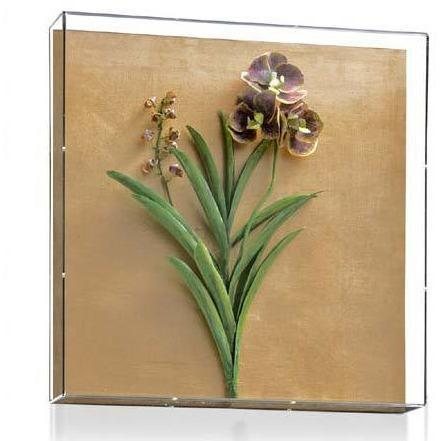 Tommy Mitchell Vanda Orchid Studies - Painted & Guilded 2 0002LVSPG