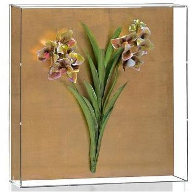 Tommy Mitchell Vanda Orchid Studies - Painted & Guilded 9 0009LVSPG