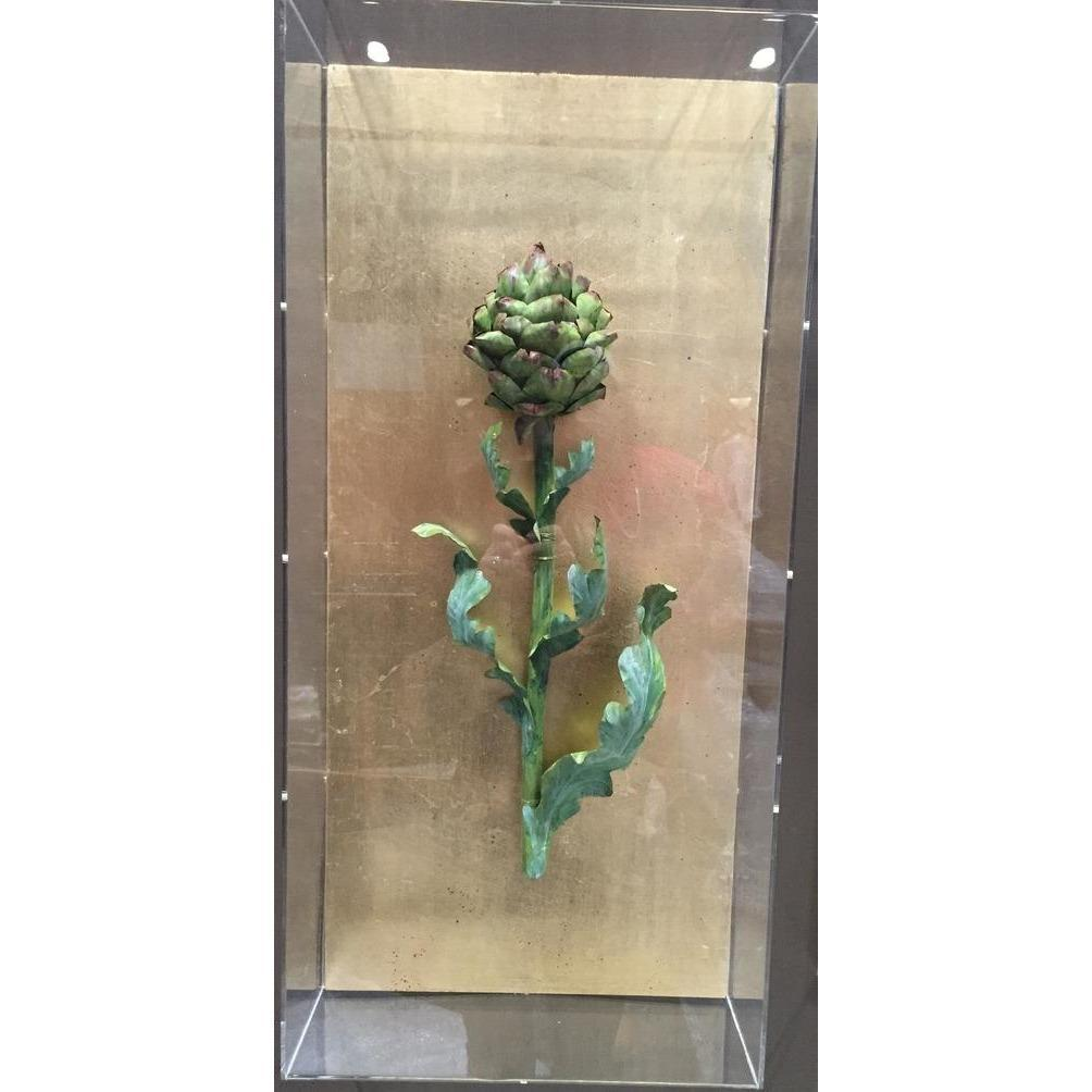 Tommy Mitchell  Vegetable Studies on Gilded Back Artichoke 000ARTC