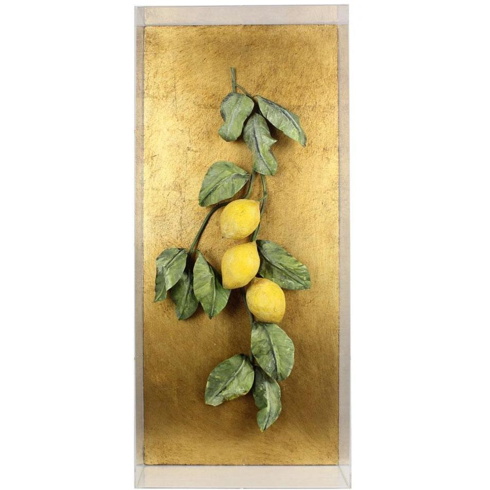Tommy Mitchell  Vegetable Studies on Gilded Back Lemons 000LEM