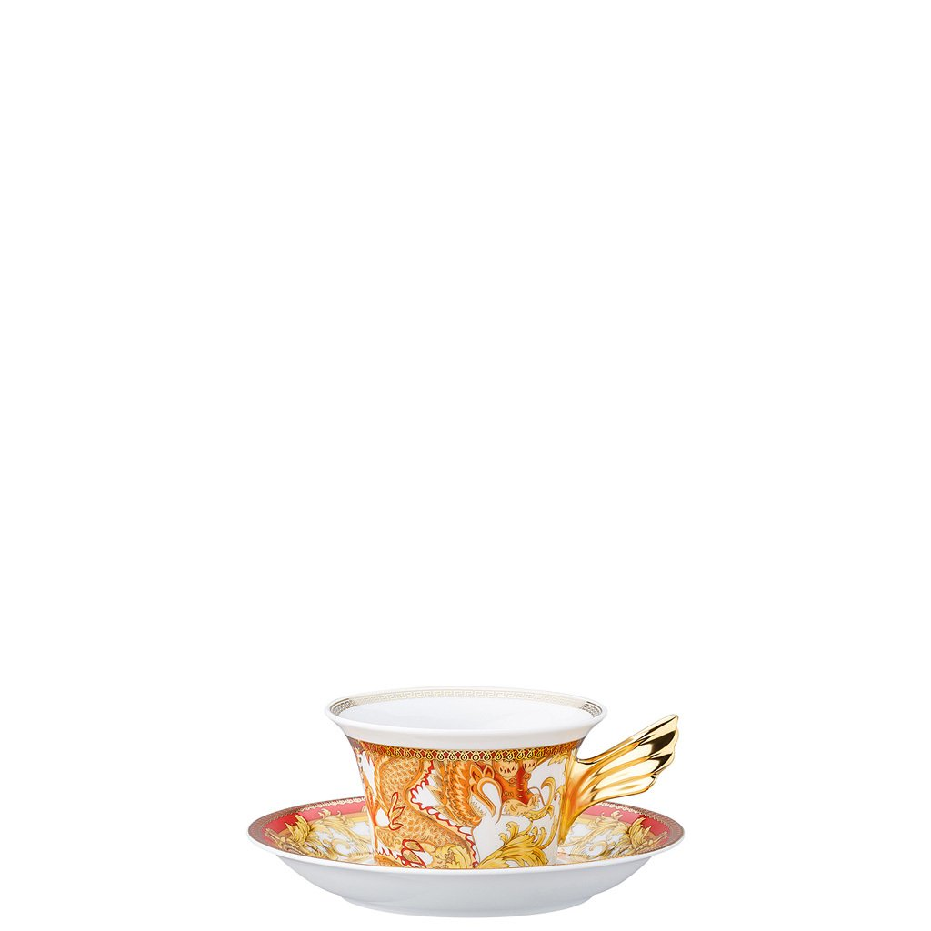 Versace 25 Years Asian Dream Tea Cup & Tea Saucer 19300-403632-28599