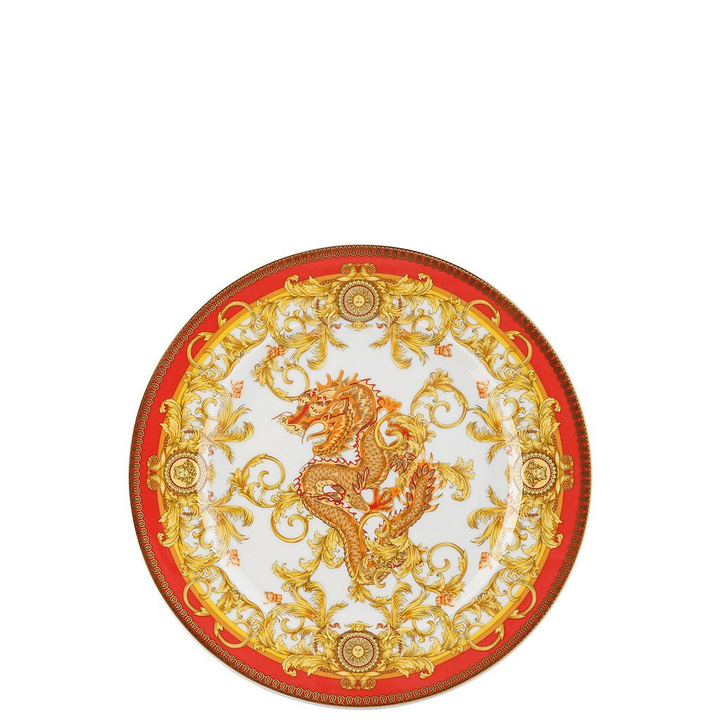 Versace 25 Years Asian Dream Dessert Plate 8.5 inch 19300-403632-28602