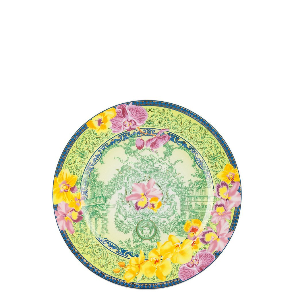 Versace 25 Years D.V. Floralia Dessert Plate 8.5 inch 19300-409981-28602