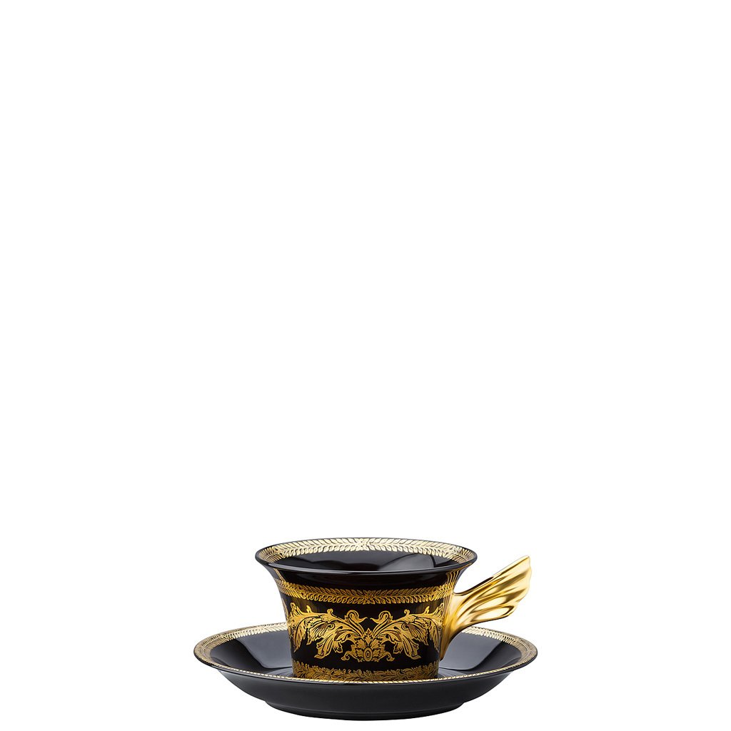 Versace 25 Years Gold Baroque Tea Cup & Tea Saucer 19300-105071-28599