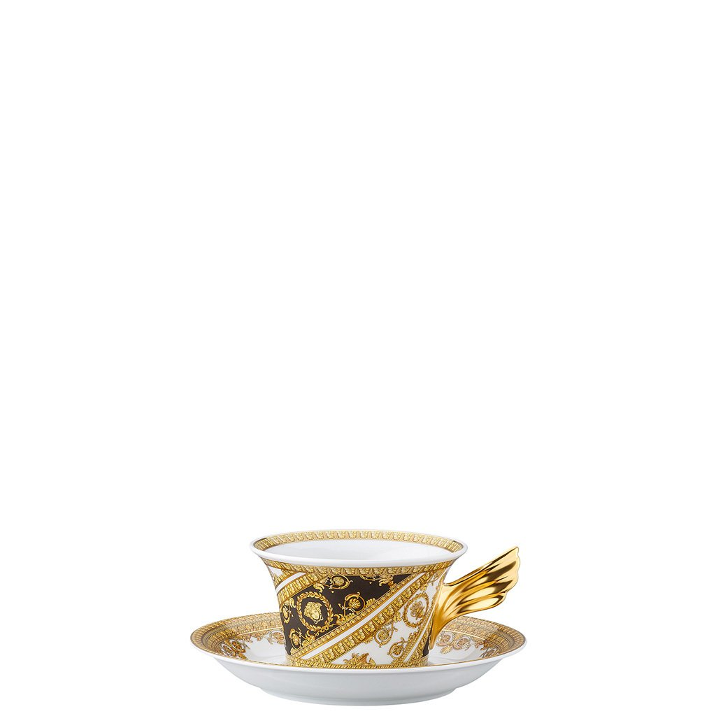 Versace 25 Years I Love Baroque Tea Cup & Tea Saucer 19300-403651-28599