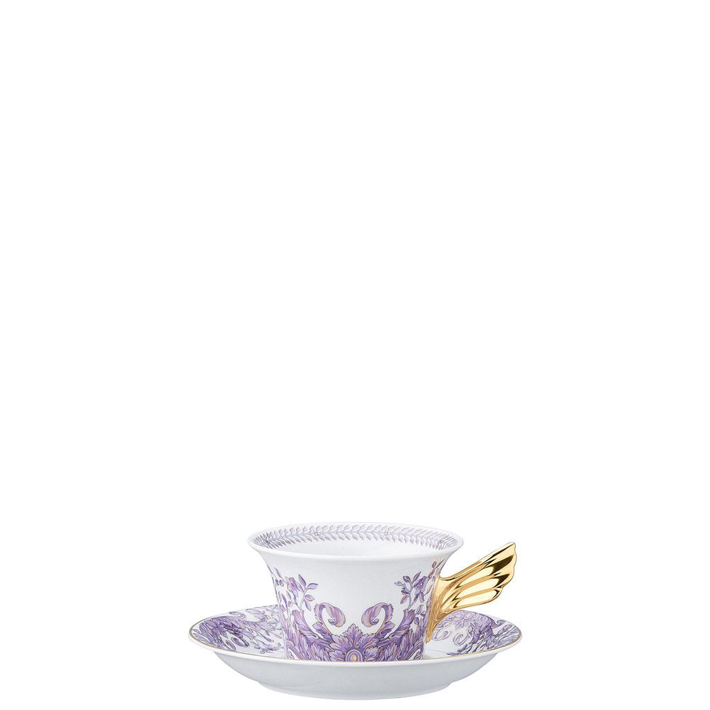 Versace 25 Years Le Grand Divertissement Tea Cup & Tea Saucer 19300-403625-28599
