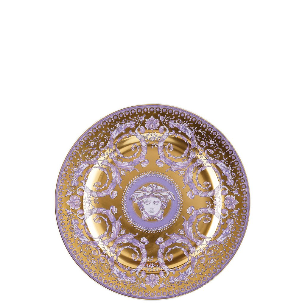Versace 25 Years Le Grand Divertissement Gold Dessert Plate 8.5 inch 19300-403626-28602