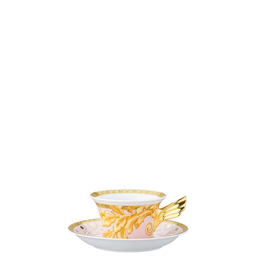 Versace 25 Years Les Reves Byzantins Tea Cup & Tea Saucer 19300-403624-28599