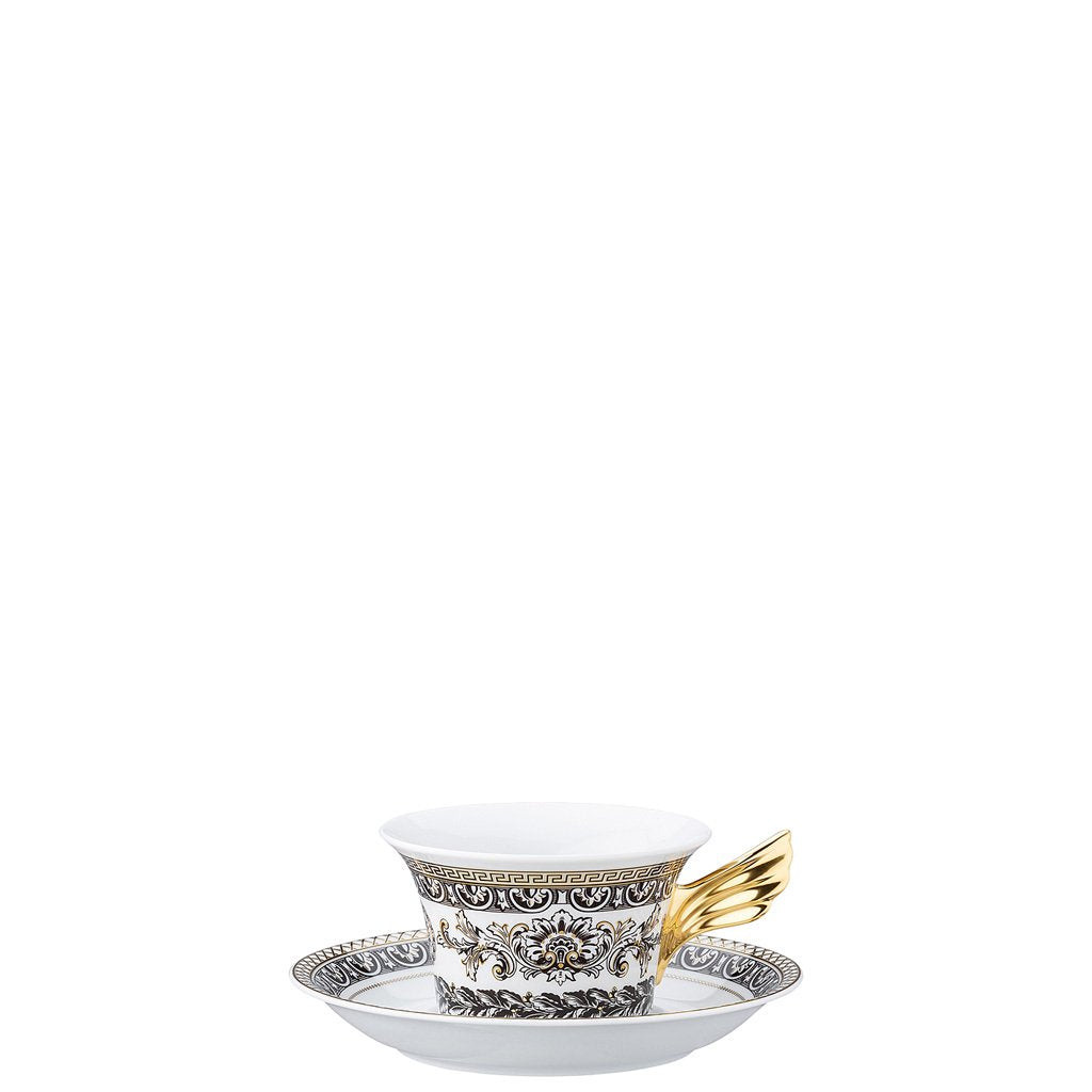 Versace 25 Years Marqueterie Tea Cup & Tea Saucer 19300-409618-28599