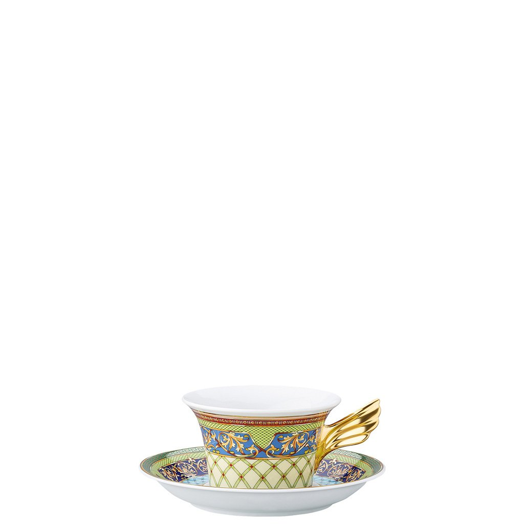 Versace 25 Years Russian Dream Tea Cup & Tea Saucer 19300-409612-28599