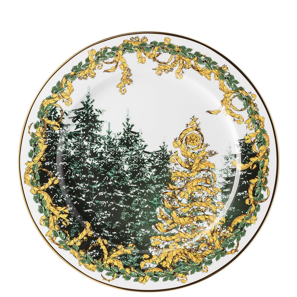 Versace A Winters Night Christmas Plate 11.75 inch 19305-409945-20021