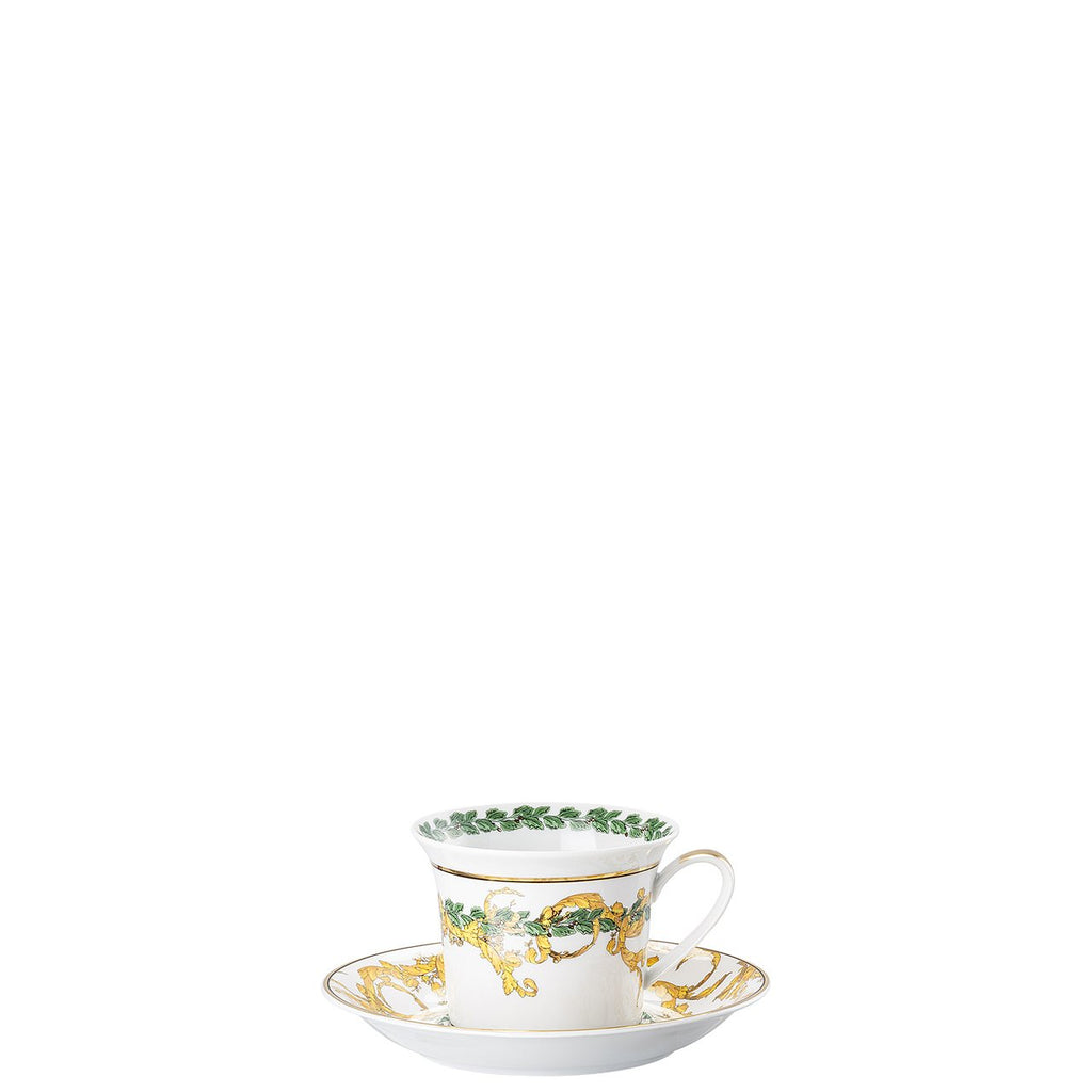 Versace A Winters Night Cappuccino Cup and Saucer 6 inch 19315-409945-14765