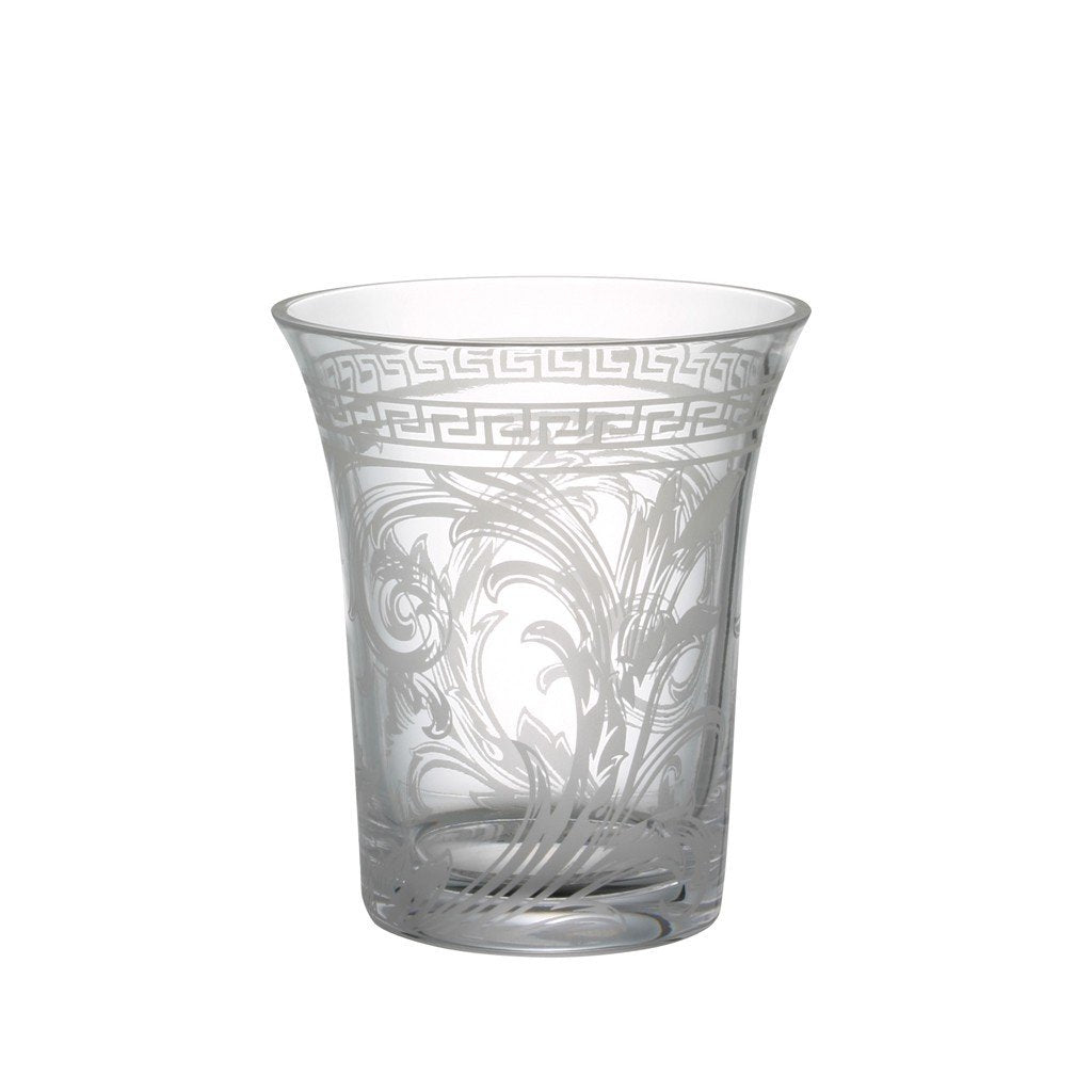 Versace Arabesque Clear Vase Crystal 7 inch 69955-320319-47018