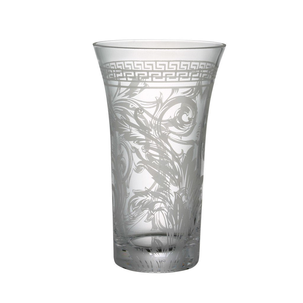 Versace Arabesque Clear Vase Crystal 10.25 inch 69955-320319-47026