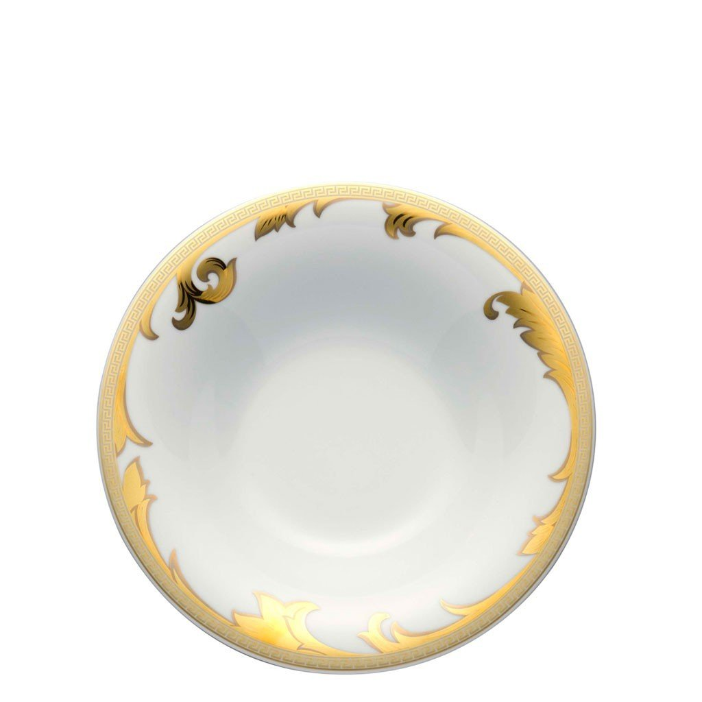 Versace Arabesque Gold Rim Soup 9.5 inch 19315-409629-10324