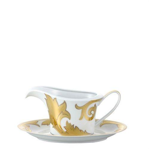 Versace Arabesque Gold Sauce Boat 18 ounce 19315-409629-11622