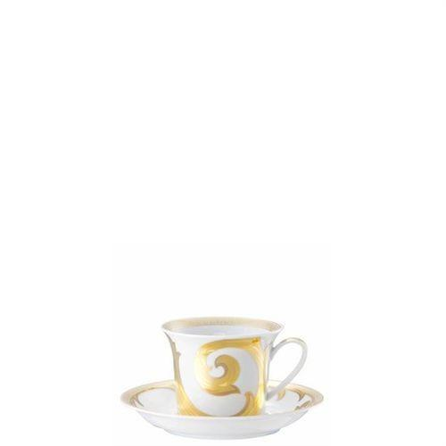 Versace Arabesque Gold Cappuccino Saucer 6 inch 19315-409629-14766