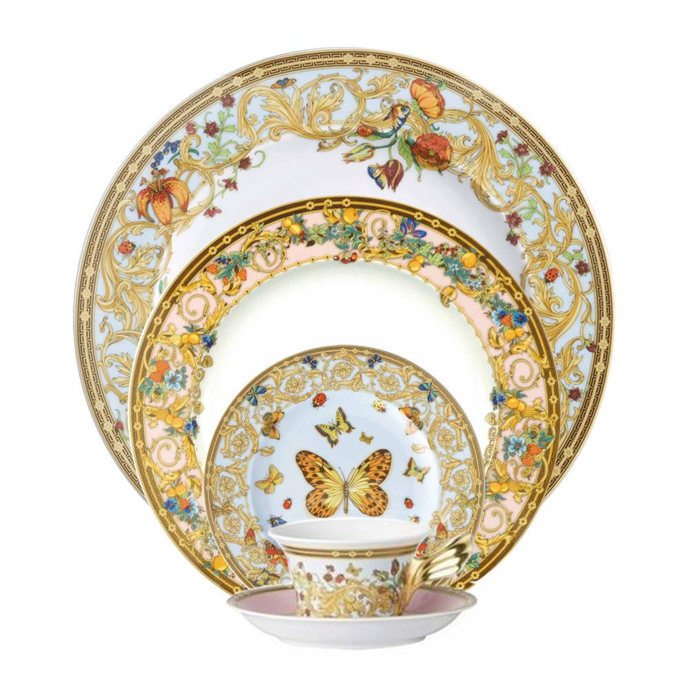 Versace Butterfly Garden 5 Piece Place Setting 19300-409609-10000