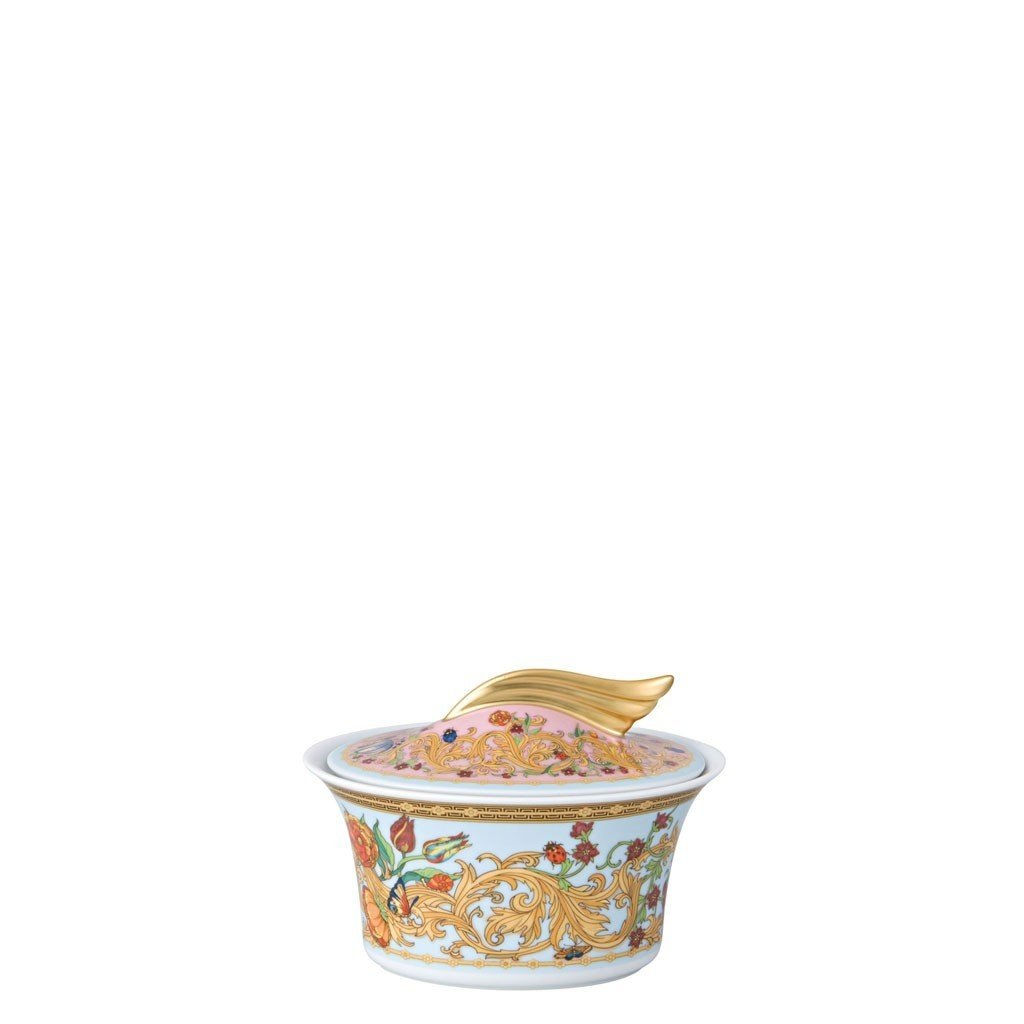 Versace Butterfly Garden Sugar Bowl Covered 7 ounce 19300-409609-14330