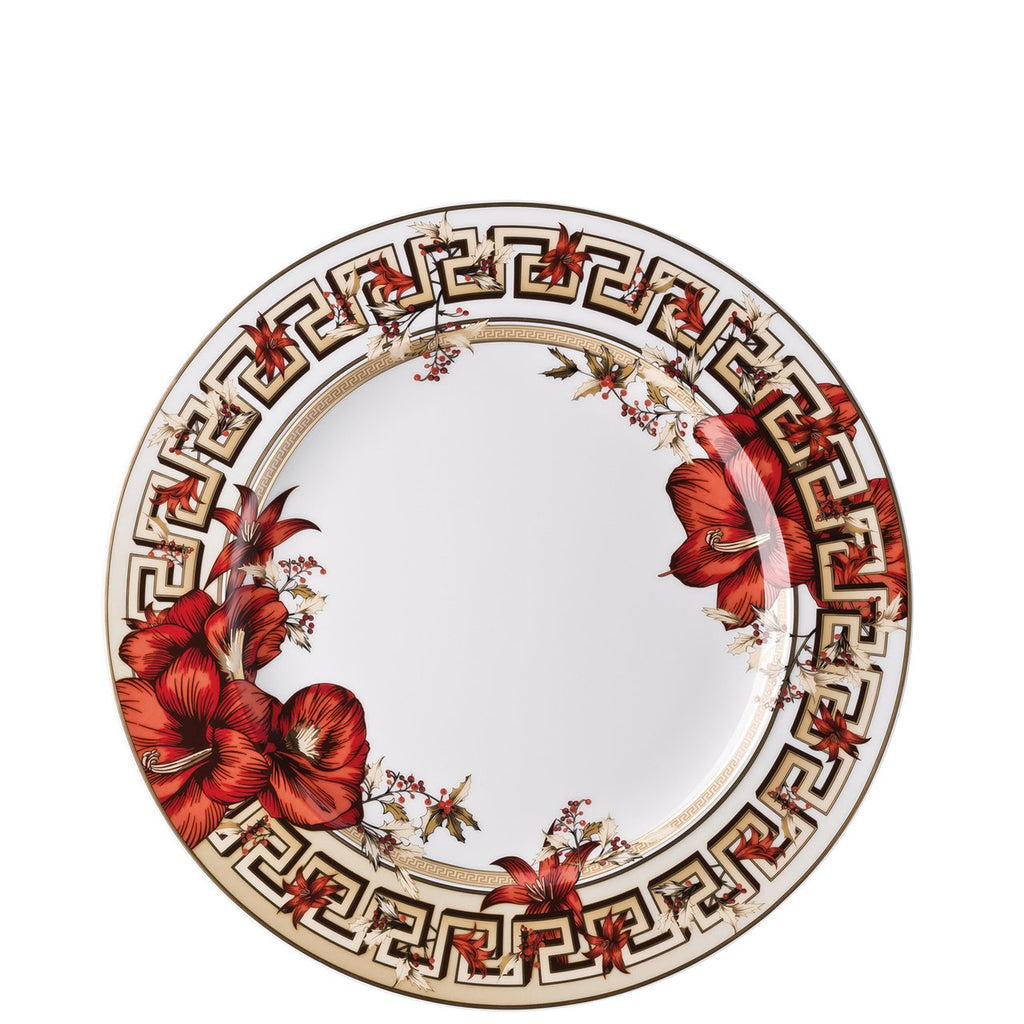 Versace Christmas Blooms Dinner Plate 10.5 inch 19300-409944-10227
