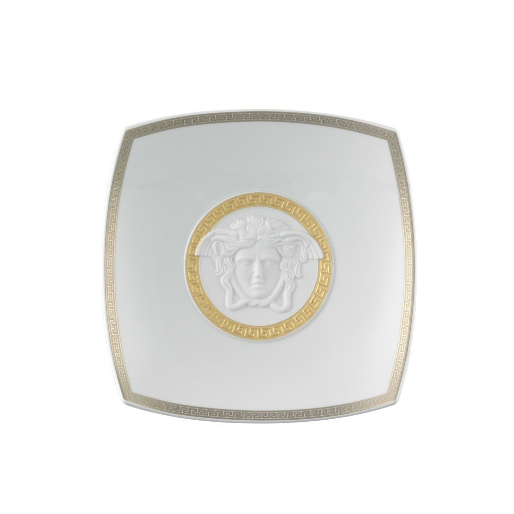 Versace Gorgona Candy Dish Porcelain 8.5 inch 14095-102845-25822