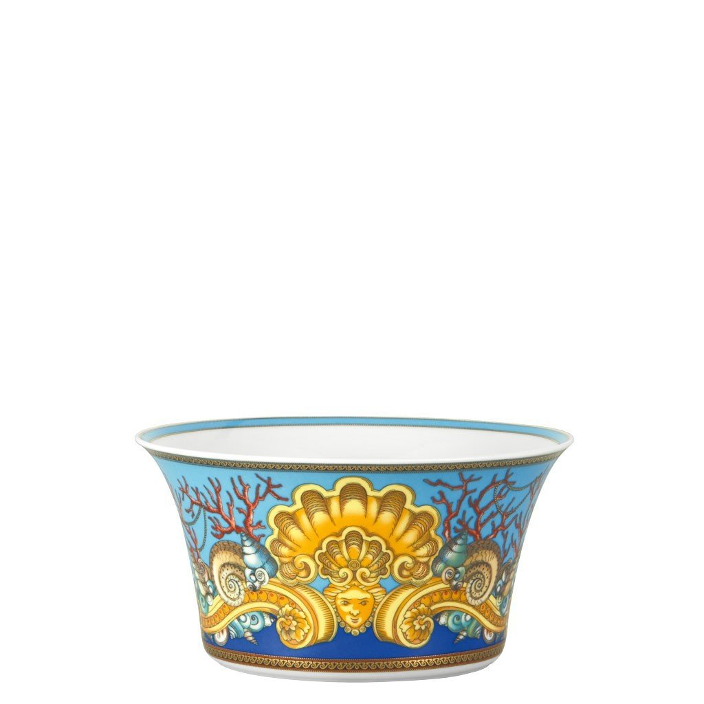 Versace La Mer Vegetable Bowl Open 8 inch 56 ounce 19300-409608-13120