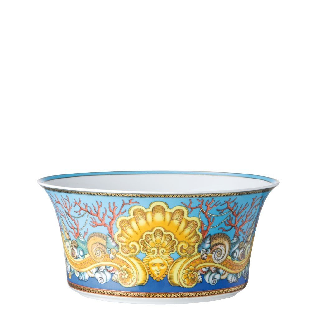Versace La Mer Vegetable Bowl Open 9.75 inch 115 ounce 19300-409608-13130
