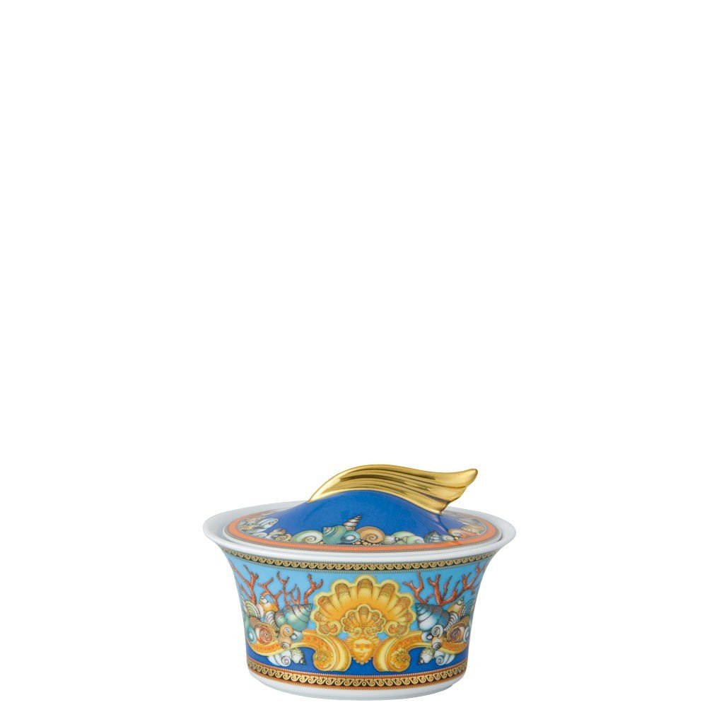 Versace La Mer Sugar Bowl Covered 7 ounce 19300-409608-14330