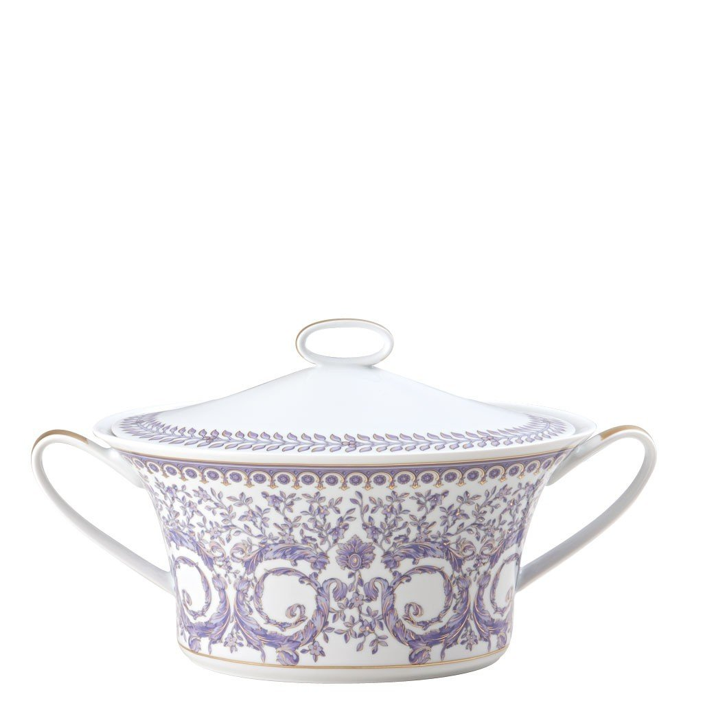 Versace Le Grand Divertissement Vegetable Bowl Covered 10490-403625-11320