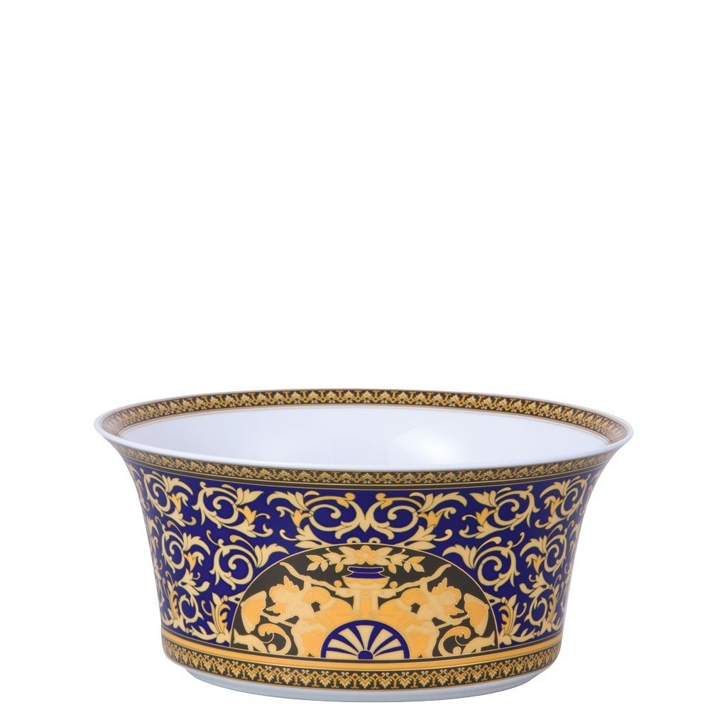 Versace Medusa Blue Vegetable Bowl Open 9.75 inch 115 ounce 19325-409620-13130