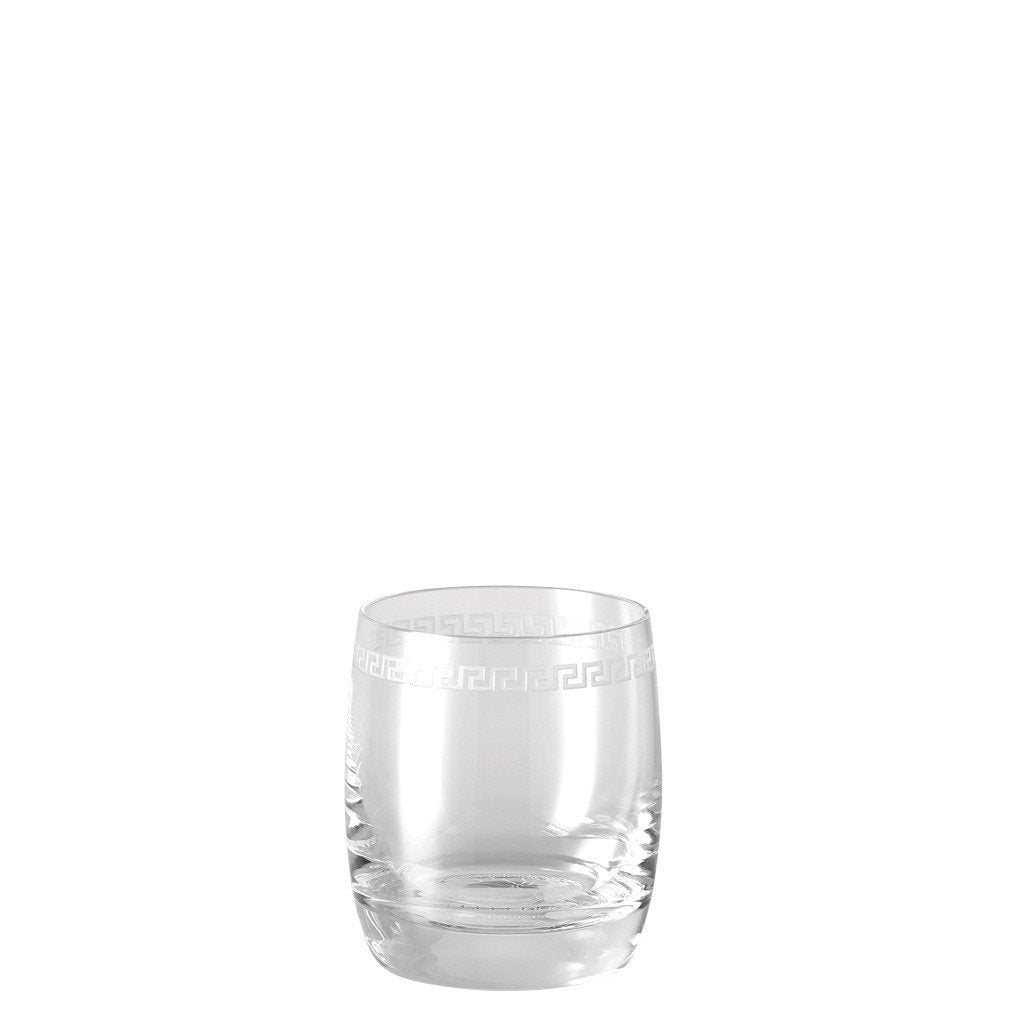 Versace Medusa Clear Whisky glass 69793-320617-40401