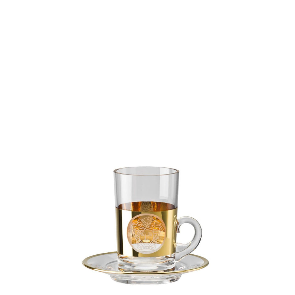 Versace Medusa Madness Oro Tea glass 2 pieces tall 69086-321377-48177
